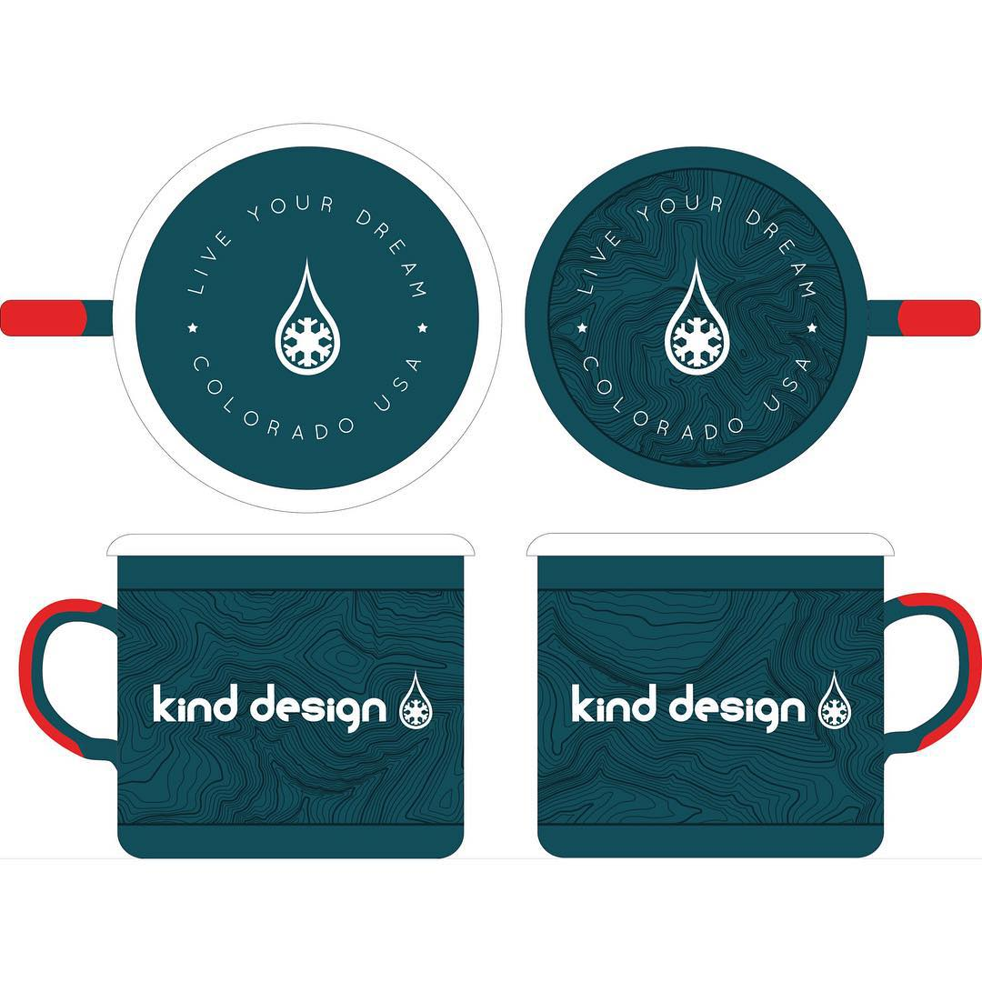 Kind Design Camp Mugs... coming in hot! LIKE and TAG 3 FRIENDS for your chance to win one of these incredible, durable enamel mugs. Hand made in the EU using a process over 100 years old... these are a must have for all of your adventures! Can you tell...
