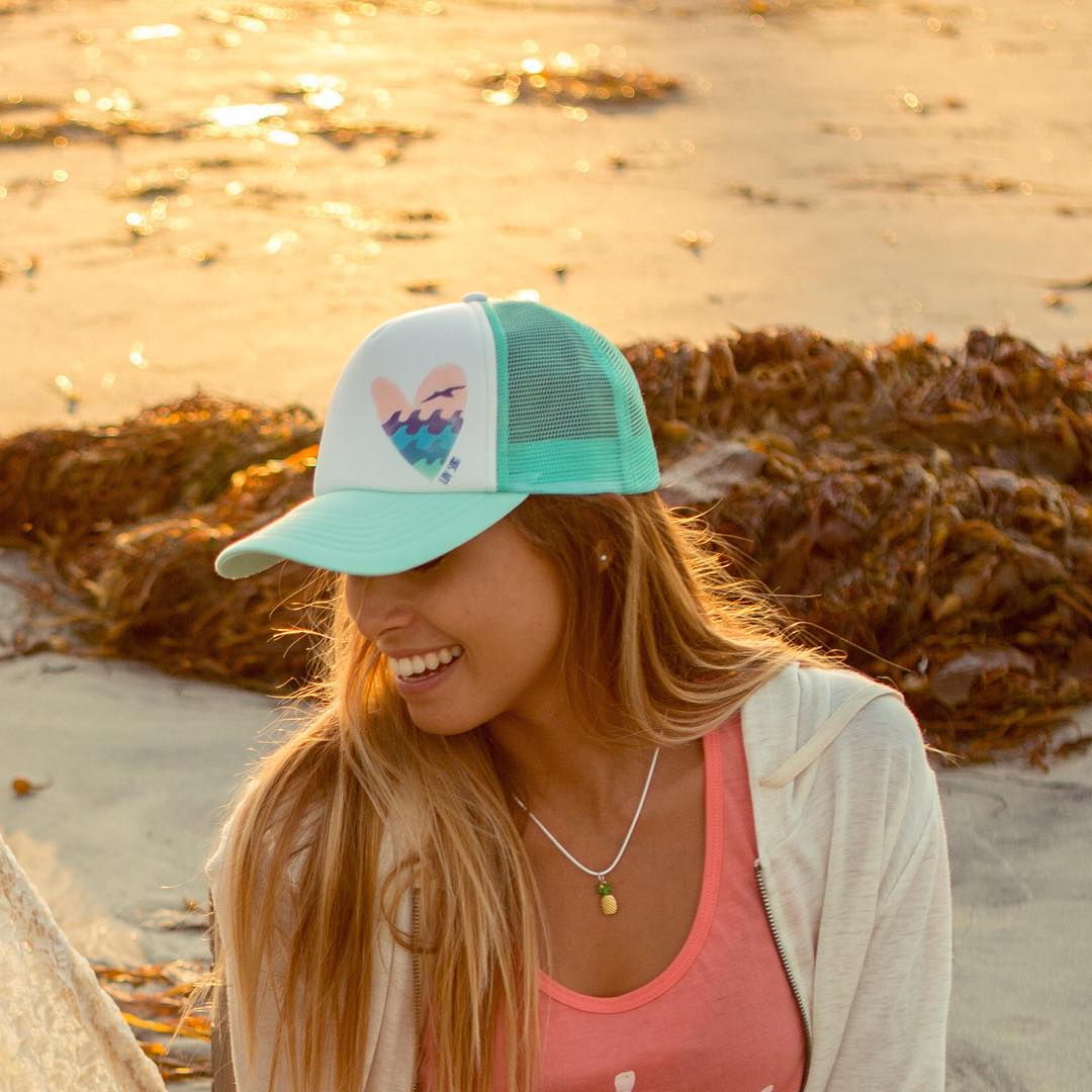 New accessories are up exclusively online! ☀️shop the look --> www.luvsurfapparel.com/accessories #luvsurf #sunsetsmiles #waveheart