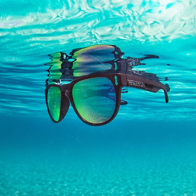 Wednesday blues got you down?  Get in the blue water with the Dragon Marquis H20 sunglass this week. #h20floatable