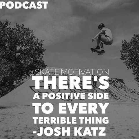 The @skate.motivation podcast launches tomorrow, 9/24. Tune in to hear what @joshkatz has to say about how he's turned his love of skateboarding into amazing and fun opportunities. Follow @skate.motivation to sign up now! #skatemotivation
