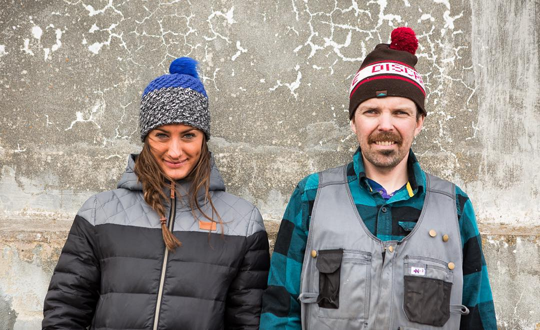 High Fives supporter @discrete is getting us stoked for winter❄️They just dropped all kinds of new beanies and hats w/ the launch of their NEW website. Go check it out! Founder of @boreaadventures Runar Karllson & @christinavolkenn