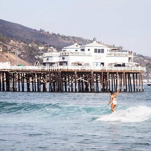 @shredsista at the Malibu logger more pics on our blog by @_lucrecia_