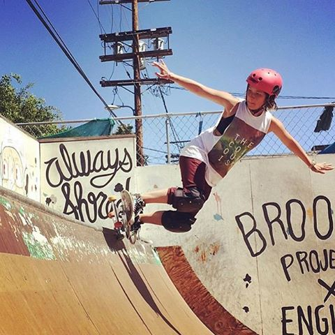 @taratatethegreat back at it! Great to see this girl doing what she loves #skateboarding #skate #xshelmets #girlswhorip #girlswhoshred