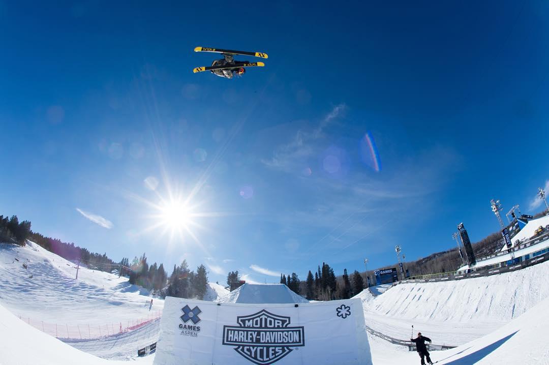 #XGames Aspen Ski Disciplines • Men's Big Air • Mono Skier X • Men's Skier X • Women's Skier X • Men's Slopestyle • Women's Slopestyle • Men's SuperPipe • Women's SuperPipe