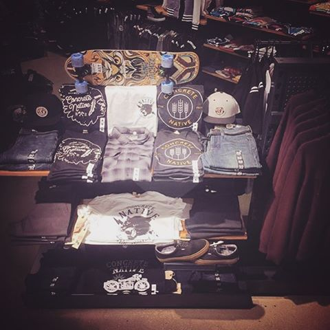Shout out to @zumiez in Evansville Indiana! That's a good looking table right there. Keep up the good work, we couldn't be happier to have such passionate sales people selling out product!  #concretenative #zumiez #midwest #indiana #sk8life #skatelife...