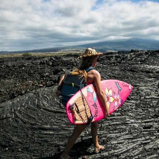 @alisonsadventures and the Hawaiian desert.  #lavafield #sarahleephoto
