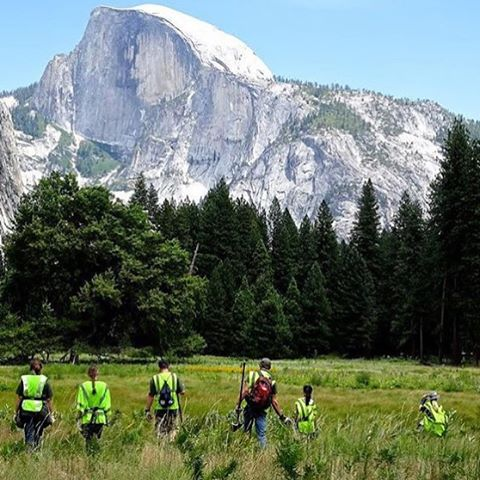 T O M O R R O W /  C E L E B R A T E On September 26th, celebrate something we all share -> our public lands. More than 175,000 Volunteers Expected on National Public Lands Day, are you going to get involved?  Featured #radpeople are @yosemitefacelift....