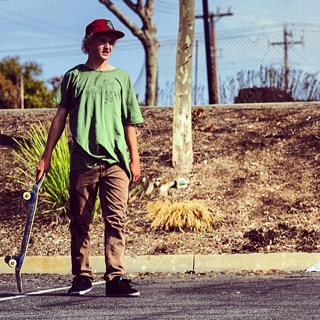 @garrettginner hitting the streets hard lately! Heck out his YouTube page for videos. YouTube.com/garrettdavidginner // photo: @tylerortonphoto  #stzlife #happyshredding #thanksblank #skateboard @bulletprufe @80hdskateco