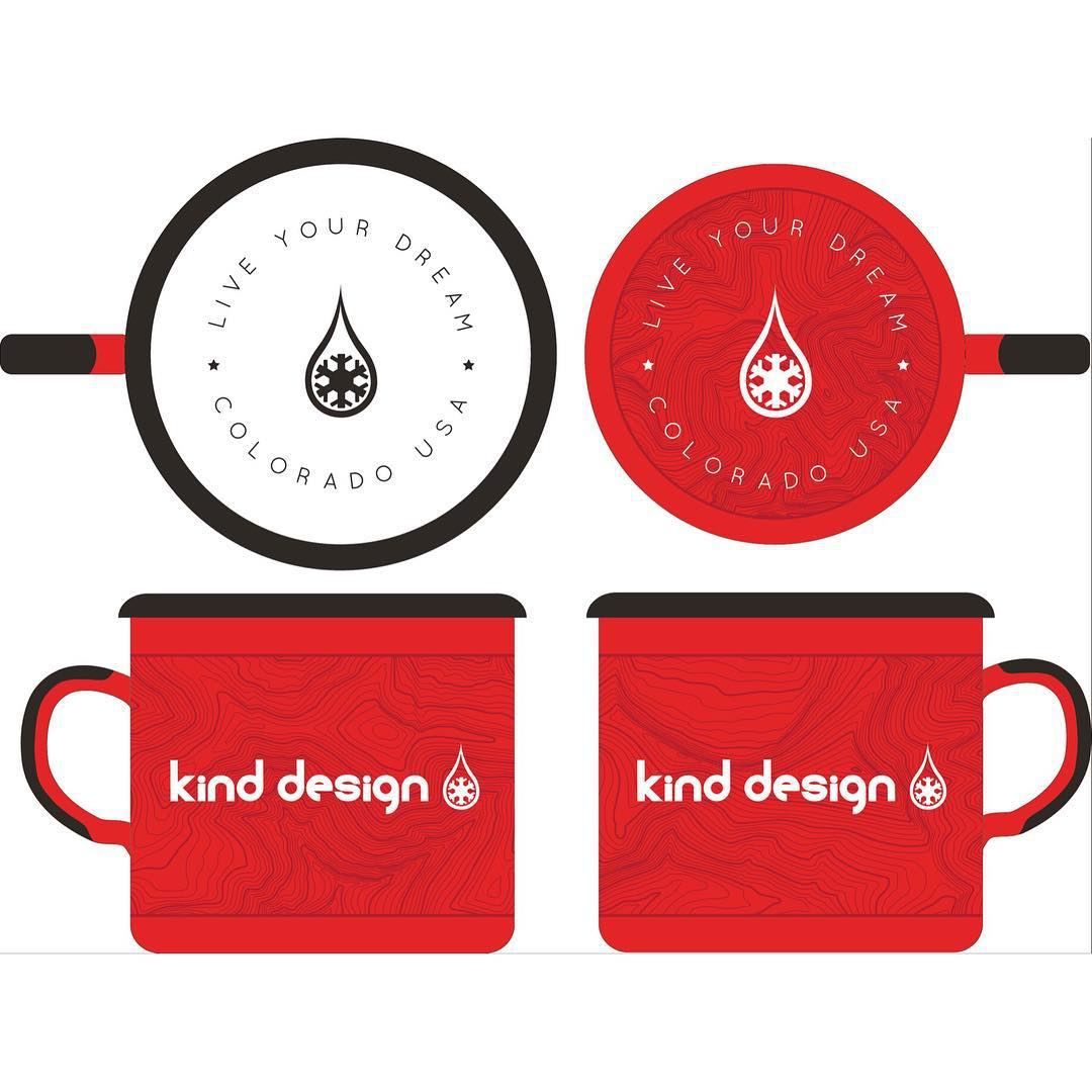 Kind Design Camp Mug #2 GIVEAWAY! LIKE and COMMENT to enter... and please TAG your friends who like to explore this beautiful country. Hand made in the EU using a process over 100 years old... these durable enamel mugs are a must-have for all of your...
