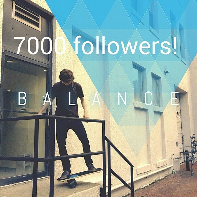 Revbalance hit 7,000 followers today!