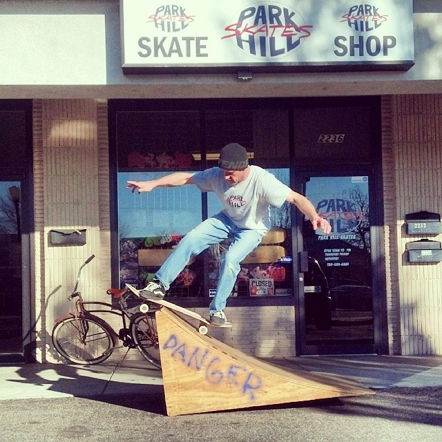 Sunday shred with Park Hill Skates owner Rob McKendry