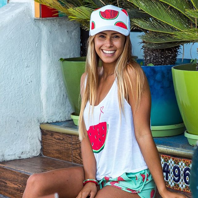 WATER YOU WAITING FOR? Fall in LUV with our watermelon trucker hat #luvsurf #watermelon #smile #melonhead #IgotAmelonOnMyHeadButDontCallMeAmelonHead