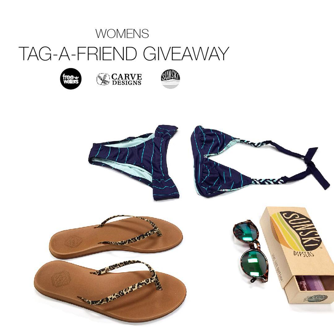 Fall? Nah - Indian Summer is in full swing! Win this warm-weather essentials pack for you and a friend!  To enter: TAG-A-FRIEND (one who also refuses to let summer end) with a COMMENT about how/where you two will INDIANSUMMERVIBE together.  Best...