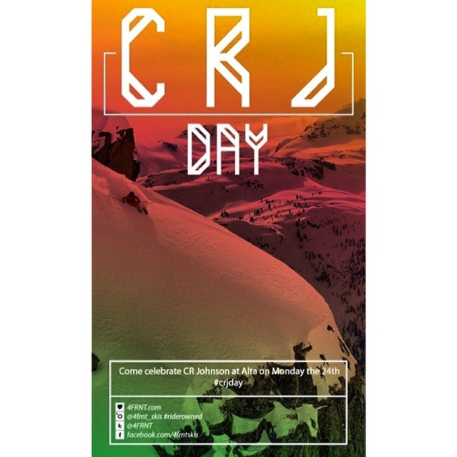 Celebrate CRJ Day with us tomorrow at @altaskiarea or share your tribute with #crjday if you can't make it