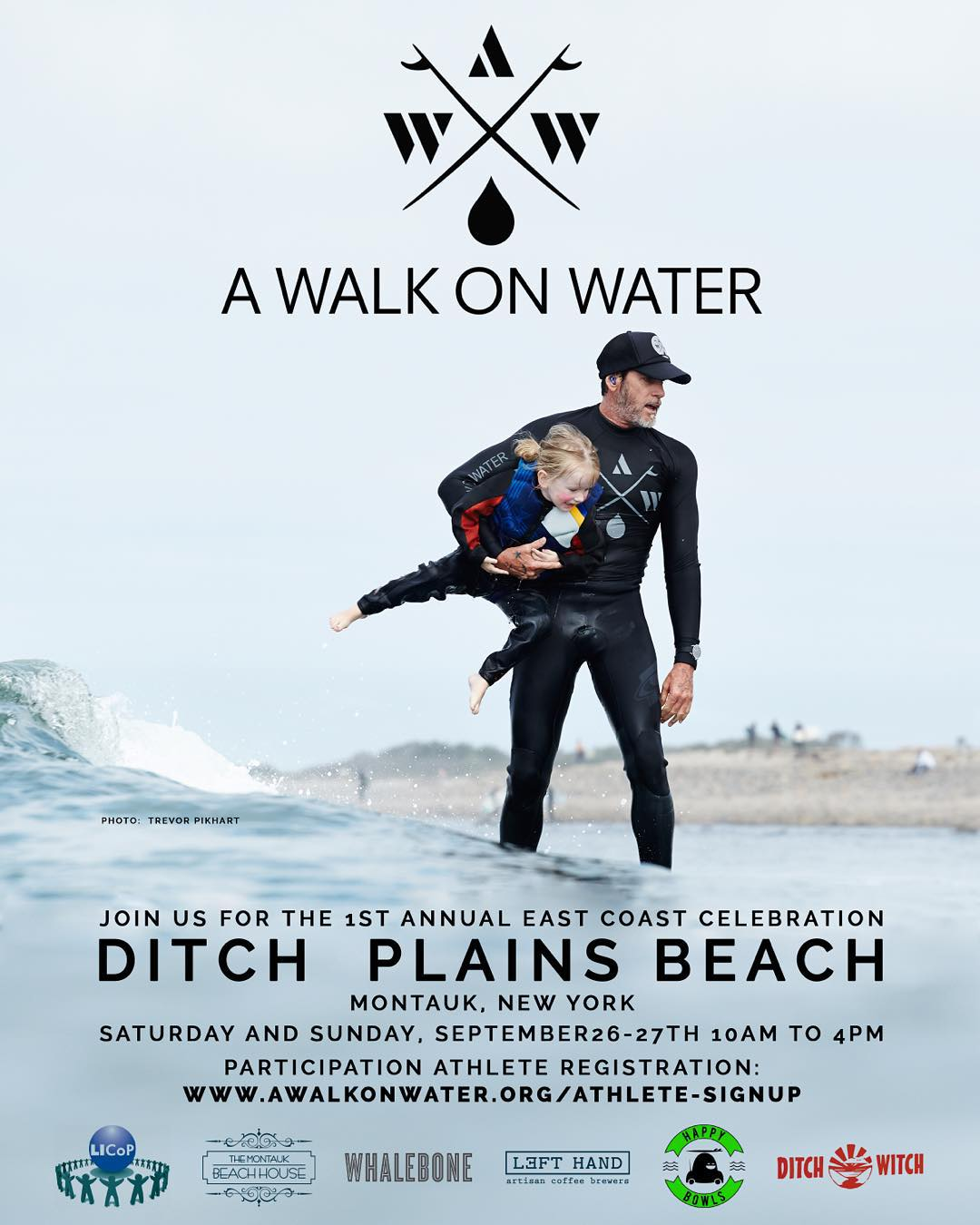 Honored to be playing a (small) part of a very special weekend in Montauk with surf therapy program @awalkonwater. Looking forward to tomorrow like it's Christmas Eve. See you there @thembh @happybowls @ditch_witch_mtk @lefthandcoffee...