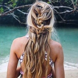 HAIR GOALS // We'd go to great lengths to get these untamed tresses! #luvsurf #getit #greatlengths #untamed #wild