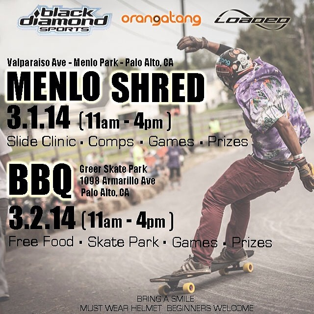 We're comin' to #norcal this weekend... Will YOU be there?  #loadedboards @orangatangwheels @blackdiamondsports