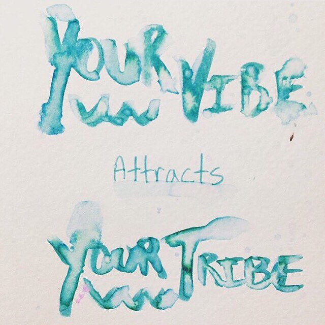 YOUR VIBE // attracts // YOUR TRIBE #luvsurf #goodvibes #goodtribes #wolfpack #realtalk