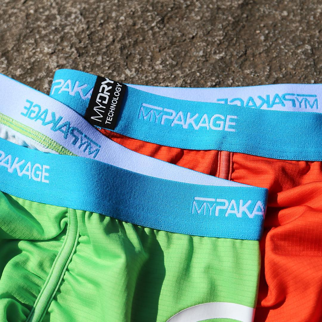 Our MyDry fabric pulls moisture away from your body and dries extremely fast to keep you dry and comfortable during any activity. Combine this with a snug fit and high stretch and you have the ultimate sport underwear. #MyPakage #ProSeries...