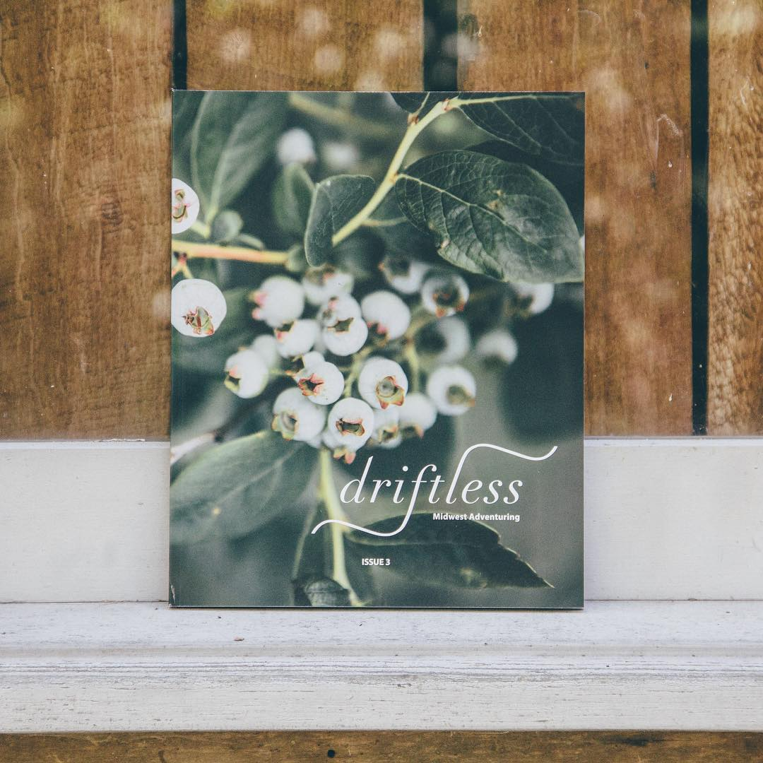 We are stoked to have @driftlessmagazine Issue 3 in stock on the website! Prefect for a Saturday afternoon read, Issue 3 is filled with an inspiring Midwest Road Trip Feature, interviews with shop owners, must-try recipes and much more. #concretenative...