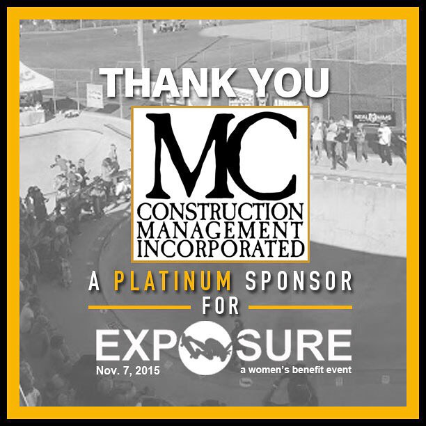 Thank you to MC Construction Management Inc. confirmed to be a platinum sponsor for Exposure 2015!! There are plenty of partnership opportunities still available, email partnerships@exposureskate.org to find out how you can help empower girls through...