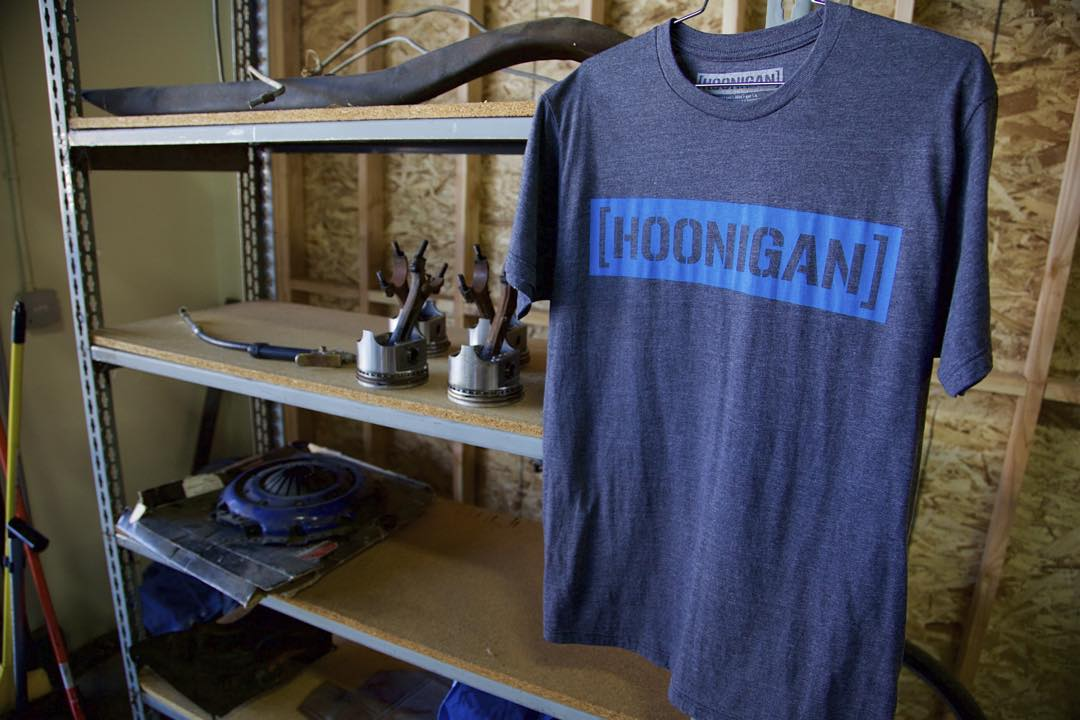 Trusty ole C-Bar tee now available in Heather/Blue on #hooniganDOTcom
