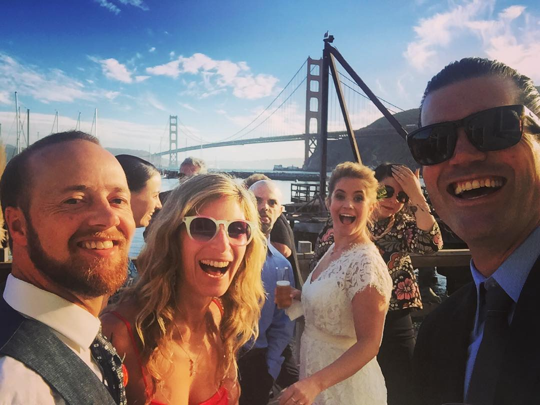 Not a Bad Wedding Selfie #sanfrancisco #romance #love #viewsfordays #selfie