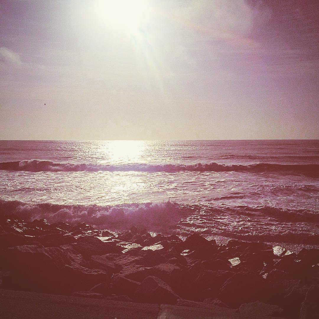 amanecer playero #urbanroach #mardelplata #sunrise #om #saludoalsol #playa #beach #ocean #sun
