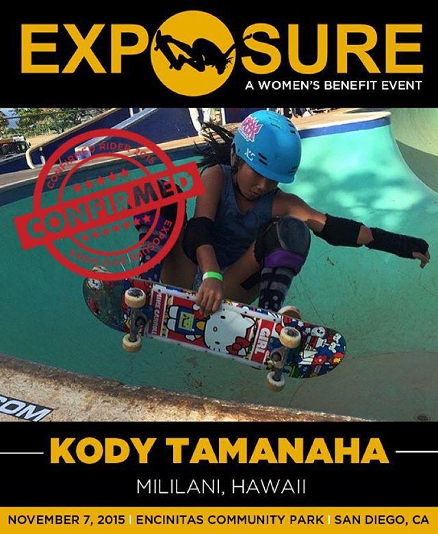Kody Tamanaha (@kody.tamanaha) confirmed for EXPOSURE 2015!