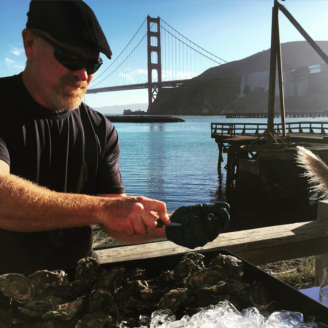 This is what San Francisco dreams are made of #oysters #sanfrancisco #love #romance