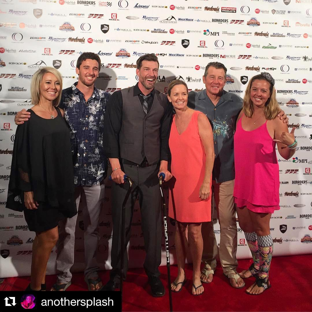 We are still #EarToEar from an incredible evening last night with the amazing #Meistrell Family at the annual wake awards gala for the World Wakesurfing Championships at the #BlueWaterCasino in #Parker #Arizona!! The only thing missing from this...