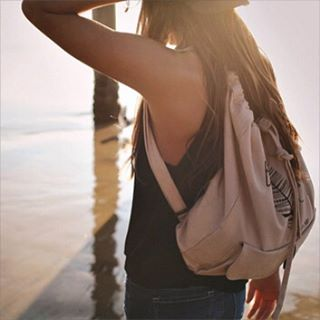 SUNLIGHT // SUNBRIGHT #BeFree backpack via www.luvsurfapparel.com photo cred: @katherinebethphotography #luvsurf #sunnydays #befree