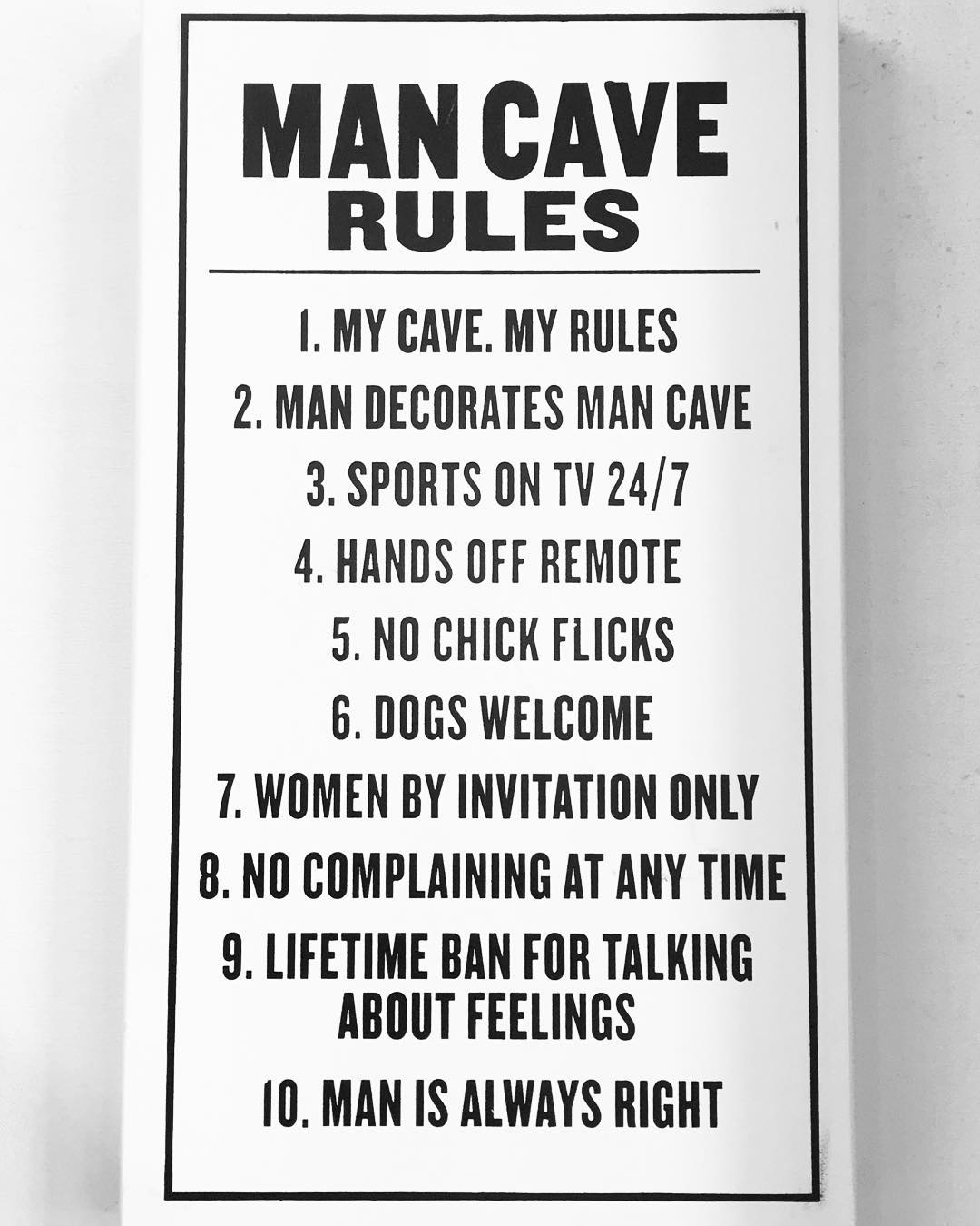 #dudesbelike #mancave