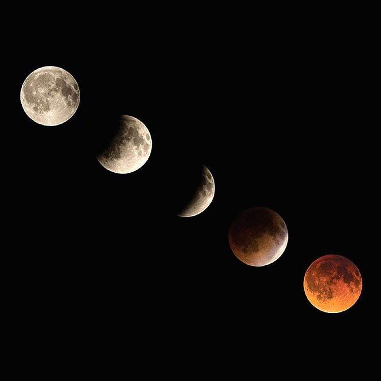 "NOW! A very rare ""Super Blood Moon Eclipse""! The super moon will appear extra big because it's at its closest point to the earth all year, while the total lunar eclipse will turn the moon a reddish color. Don't miss out on this incredible astronomical..."