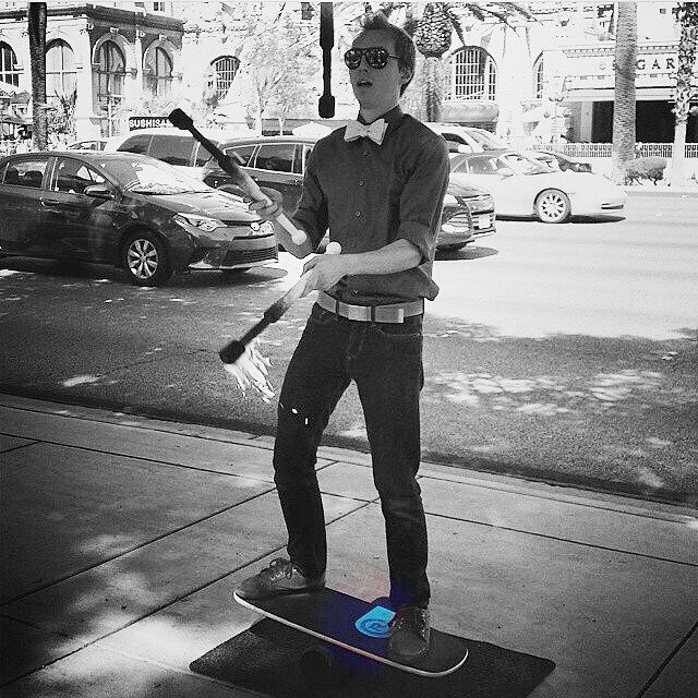 Balance Board and fire! That's a new combo! #revbalance #findyourbalance #balanceboards #madeinusa