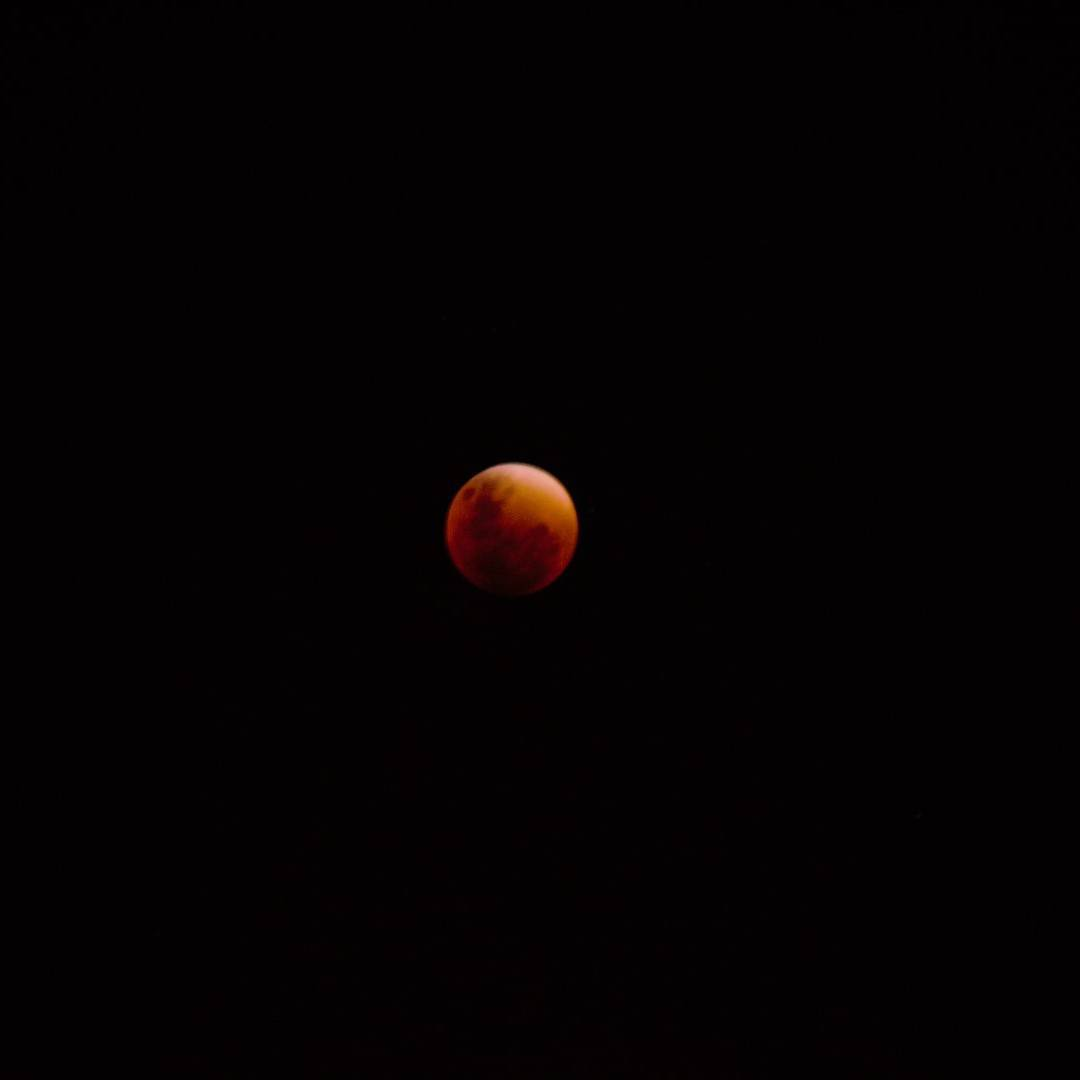 Recien bajo del techo y gracias a Dios pude capturar esta hermosa luna en el manto negro... pero el proximo eclipse, sera especial! Ahi estare.... #all_my_own #eclipse #lunaroja #nochehermosa #creacion #regalodedios #igs_photos #argentina #argentinaig...