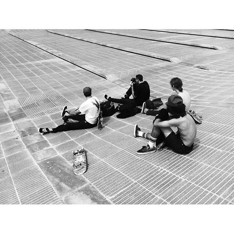 #Regram de @renatodonadei Arrancó el tour de skate por Córdoba
