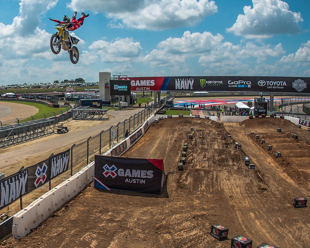 Four-time #XGames gold medalist @Mike_Mason81 is gonna kick it with us at @ESPN headquarters today! (