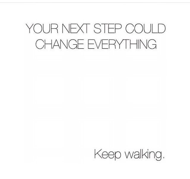 Not everything in #life comes easy, but that is no reason to slow down— keep walking