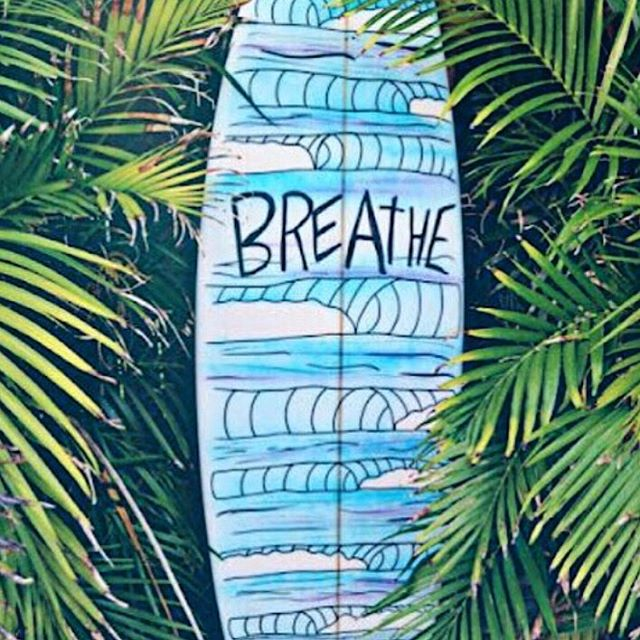 Always a good reminder. #mondaymantra #breathe #bepresent