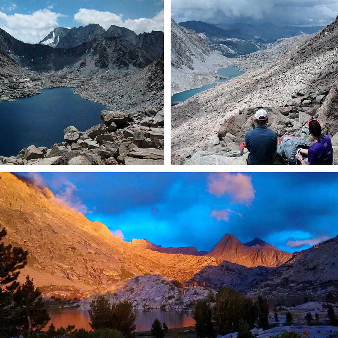 With summer dwindling, #ASCMicroplastics runner Mary Ellen Benier explored Darwin Basin, returning with water samples and memories of the spectacular #HighSierra.  These peaks were named after the chief exponents of Darwin's theory of #evolution,...