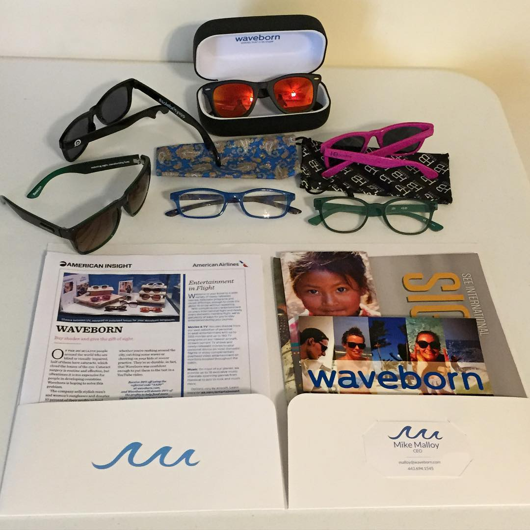 Give the gift of sight with #waveborn #headbro #readers #lifeisgood #givesight