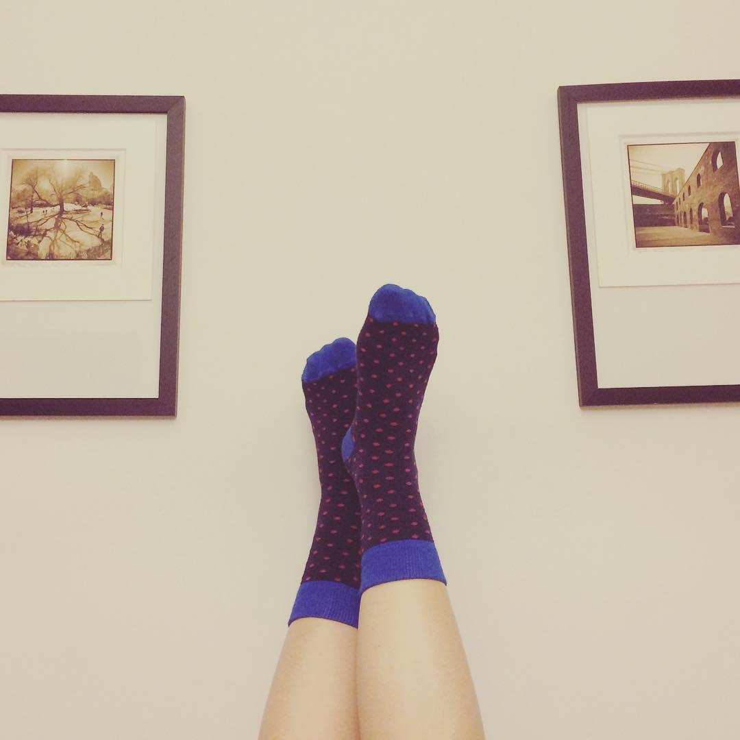 Llegar a casa y relajar los pies