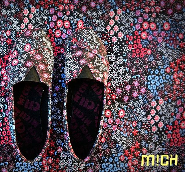Black Garden  Collection SS 15/16 #Mich #Michshoes #alpargatas #alpargatasmich #shoes
