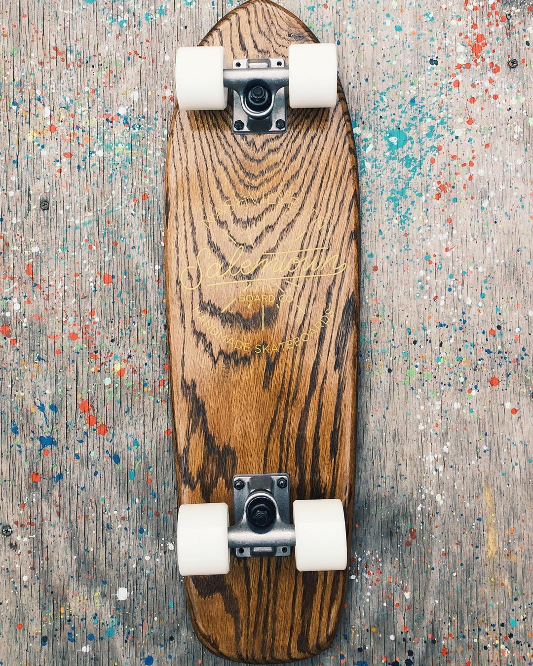 Sometimes simple is better. #handmadeskateboard