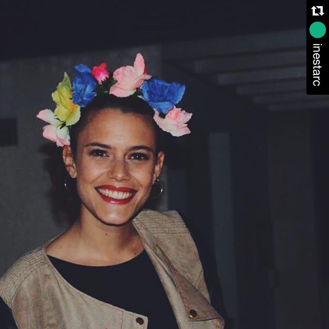 Gente linda y que queremos mucho!! @inestarc con vincha de @delasbolivianas