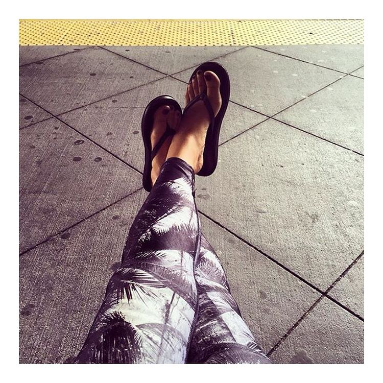 Airport transit vibes with @lisabermudez & the #Innertubed sandal ✈️ #regram #Indosole #TiresToSoles #SolesWithSoul