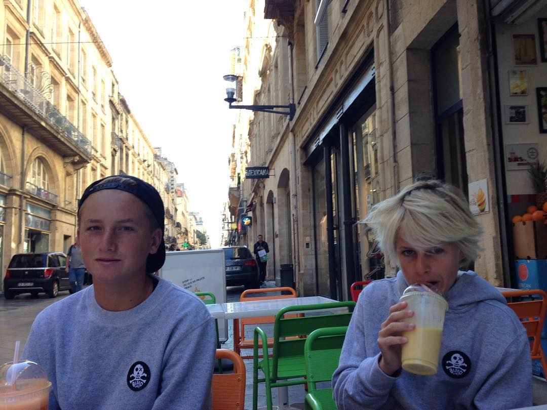 The #BillabongBloodlines crew is currently in Europe drinking in all the culture on offer.