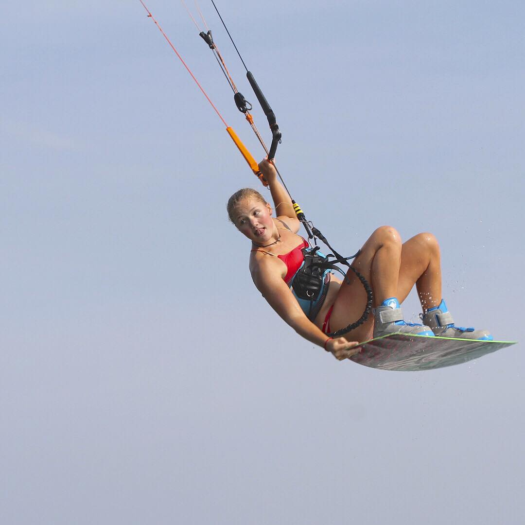 Let your spirit soar! @em_cul flying high #kiteboarding #boost #sensiclaire #jointheadventure