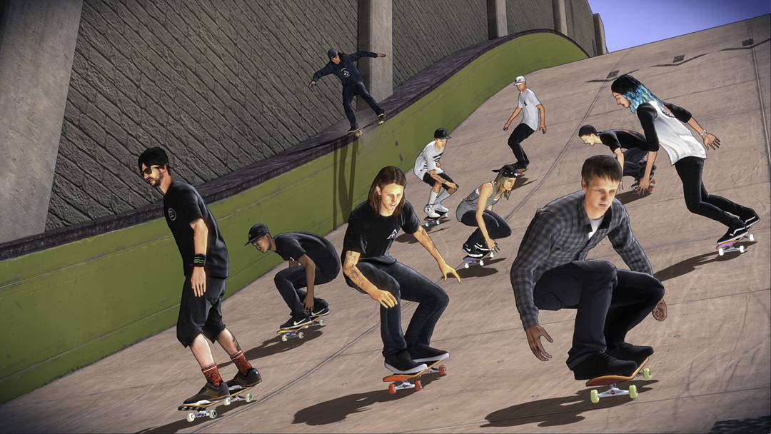 Ten playable characters in 'Tony Hawk's Pro Skater 5' are #XGames athletes! • @lizziearmanto • @leticiabufoni • @chriscobracole • @davidgonzalez • @rileyhawk • @tonyhawk • @aaronjawshomoki • @nyjah • @andrewreynolds • @ishodwair